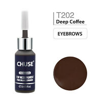 CHUSE Permanent Make Up Micro Pigment Farbe Microblading Tattoo Ink Hellbraun 12