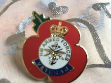 Veterans Poppy Badge