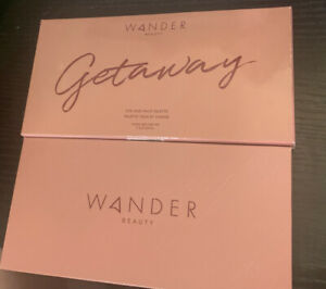 Wander Beauty Getaway Eye and Face Palette (8 Shades) Full Size New In Box NIB