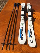 New listing Used Jr Package Head Worldcup Race 100 Cm Skis/Scott 42�Poles/Tyrolia Bindings