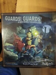 Terry Pratchett - Guards! Guards! SIGNED/SEALED board game Discworld RARE?