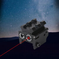 Tactical Mini Red Dot Gun Sight Laser with 20mm Rail Mount Hunting Durable