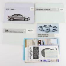 Volvo S40 Owners Manual OEM Handbook Pack 2006 Owner's Drivers Manual