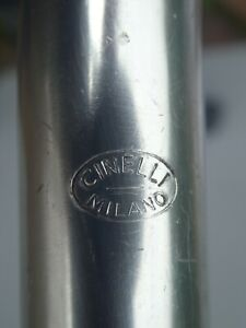 Cinelli Milano Quill Handlebar Stem - Eroica 22.2/26/90 - Oval Logo