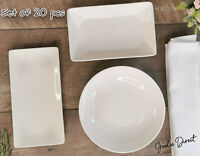 British Airways Crockery Set of 12/ 16/ 24 pcs, Club World Plates, Bowls Platter