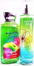 Bath & Body Works Beautiful Day Shower Gel & Body Spray Gift Set of 2