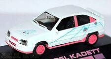 Opel Kadett E GSI Pink Design 1984-89 weiß white 1:87 Herpa PC