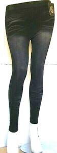 Leggings Invernale Donna LANGSHA Pantacollant Nero A541 Tg da S/L L/XL