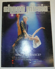Sheet Music Magazine Flashdance What A Feeling March 1984 102414R