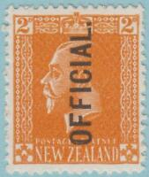 New Zealand O45 Mint Hinged OG * - No Faults Very Fine!!!