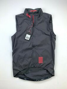RAPHA Pro Team Insulated Gilet Size Medium Gray New