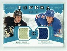 11-12 UD Artifacts Tundra Tandems  Jordan Staal--Marc Staal  /225  Dual Jerseys