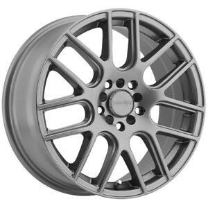"Vision 426 Cross 17x7.5 5x4.5""/5x120 +38mm Gunmetal Wheel Rim 17"" Inch"