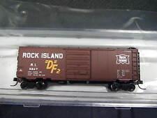 Atlas 50001768 N-scale 40' Pullman-Standard PS-1 boxcar - Rock Island w/DF2 logo