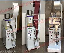 2-100 g auto powder filling and  Three-side sealing machine for leaf, grain,tea