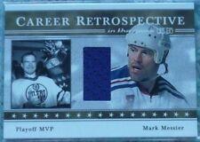 Mark Messier 2003-04 ITG-Used Career Retrospective GOLD Jersey /10 NY Rangers