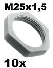 25x frasques mamelons PG 21 m25x1,5 einschraubnippel Câble introduction Gris 780