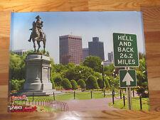 Hell & Back Heartbreak Hill 26.2 Boston Marathon Poster Paul Revere Statue
