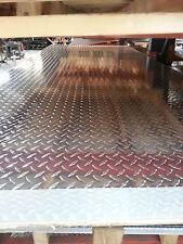 Diamond Plate Aluminum 100 X 48x 90 Alloy 3003