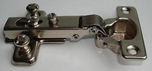 Mini Topfscharnier mit Anschraubplatte 26 mm Topfband Scharnier Federscharnier
