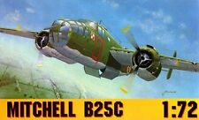B 25 C Mitchell Mk. III (No.305 polaco Sqn RAF y 488th Bs USAAF) 1/72 Gomix