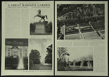 History Baroque Garden Herrenhausen Hanover Germany 1958 3 Page Photo Article