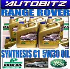 LOW SAPS  RANGE ROVER SYNTHESIS C1 FULLY SYNTHETIC ENGINE OIL 5 LTR X1