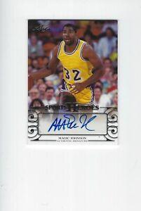 2016 Leaf Sports Heroes Magic Johnson Signature Autograph Lakers HOF Legend