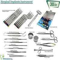 Chirurgical Implantologie Complet OS Greffage Instruments