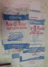 (7) Eshelman & Sons Red Rose Feed Sacks