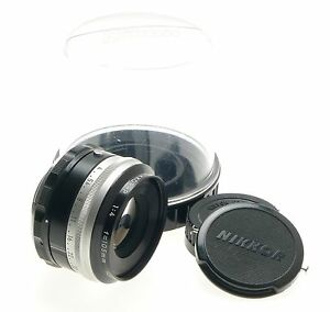 NIKKOR-P AI LENS 1:4 f=105mm CAPS KEEPER MINT RARE FOR USE WITH BELLOWS 4/105mm