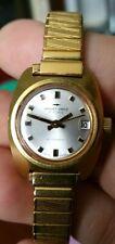 Único década de 1970-Jaquet-Droz Señoras Reloj-versión rara fecha