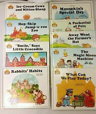 Lot of 9 Hardback Books by Jane Moncure Child's World Magic Castle Readers
