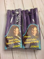 Claire's for Conair SPIRAL CURLERS Easy to Use Foam 2 Pkgs Of 8 NIP