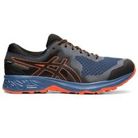 Asics Gel-Sonoma 4 GTX Mens Trail Running Fitness Trainer Shoe Blue/Orange