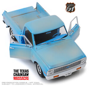 1:18 Scale The Texas Chainsaw Massacre 1971 Chevrolet C-10 By Highway 61 18014