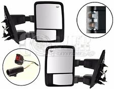 Side Towing Mirrors Ford F250 F350 F450 F550 | Clear Signal | Power | Heated Set