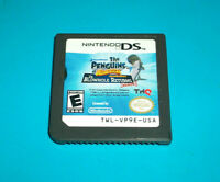 ⭐⭐ TESTED ⭐⭐ PENGUINS OF MADAGASCAR DR. BLOWHOLE RETURNS AGAIN NINTENDO DS GAME