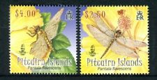 2009 Pitcairn Island Dragonflies - Muh Set of 2 Stamps