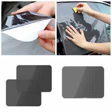 CAR REAR WINDOW SIDE SUN SHADE COVER BLOCK STATIC CLING VISOR SHIELD SCREEN