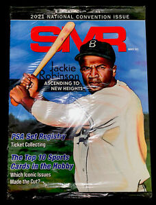 Sports Market Report (SMR) PSA Guide August 2021 Jackie Robinson– Sealed!