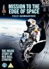 REDBULL PRESENTS - MISSION TO THE EDGE OF SPACE - DVD - REGION 2 UK