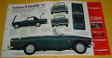 1965 Sunbeam Tiger Convertible MK1 MKI 4261cc V8 IMP Info/Specs/photo 15x9