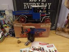 VINTAGE MAMOD SW1 S.W.1 LIVE STEAM WAGON ENGINE VN/MINT BLUE VERSION  boxed