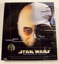 """Star Wars 12"""" 1/6 scale figure Masterpiece Edition Anakin Skywalker book MISB"""
