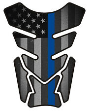 Fallen Officer Black Military Motorcycle Gas 3D tank pad tankpad protector 4side
