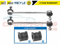 FOR AUDI A2 (8ZO) 2000-2005 MEYLE HD FRONT ANTI ROLL BAR DROP LINKS AND D BUSHES