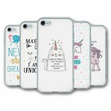 For iPhone 7 & 8 Silicone Case Cover Unicorn Collection 4