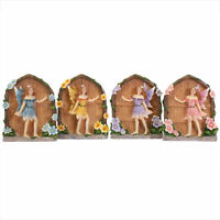 Mini Fairyland Fairy Door Garden Magical Figurine Ornament Gift 4 Colours