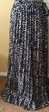 NWT~LulaRoe 3XL Leopard Animal Print Deanne Long Pleated Wrap Skirt